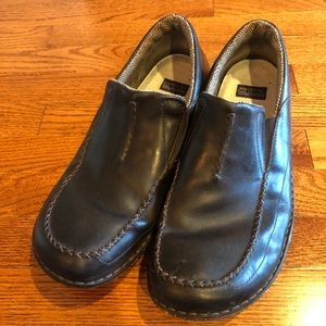 Patagonia Leather Loafers Slip On Brown Mens 14